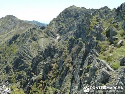 Senderismo Segovia - Macizo de la Buitrera; parques naturales de la rioja